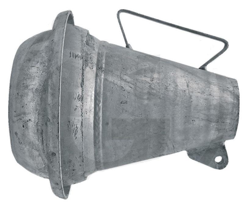 Berselli Ital díl ocelová tryska rozstřikovače kejdy se samcem 6″ pro fekální vozy