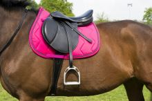 Podsedlová dečka na koně barva růžová, velikost FULL Equi-Theme