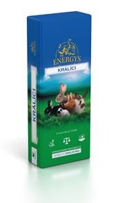 ENERGYS® Králík Gold Forte prémiové krmivo pro králíky s obsahem antikokcidika 25 kg