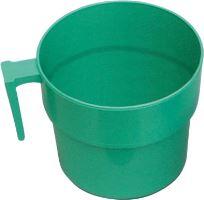 Odměrný hrnek 2 l zelený, značky po 0,5 l