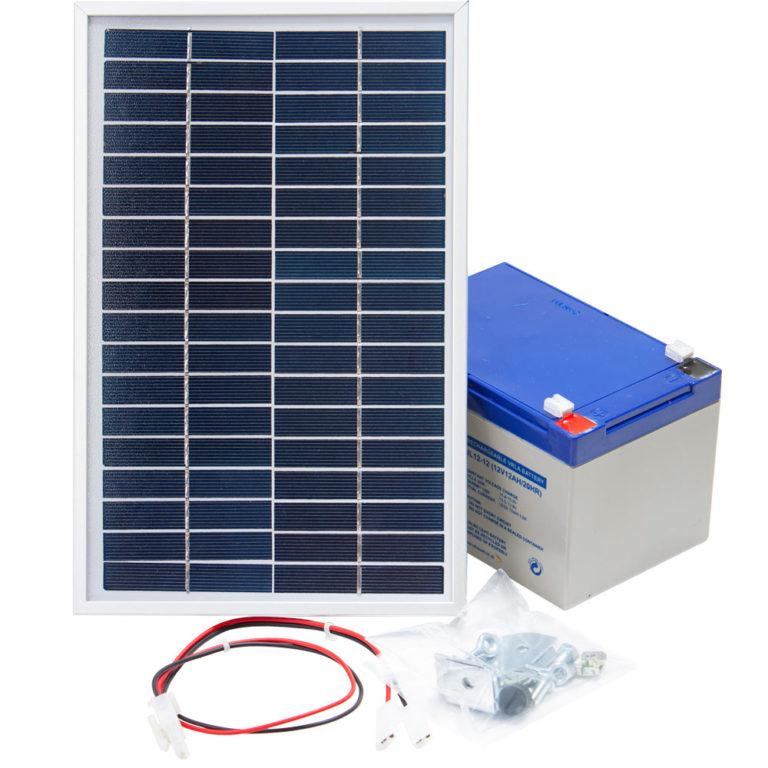 Solární panel 6W pro bateriové zdroje napětí Olli 9.07 B a 9.07 S na elektrický ohradník