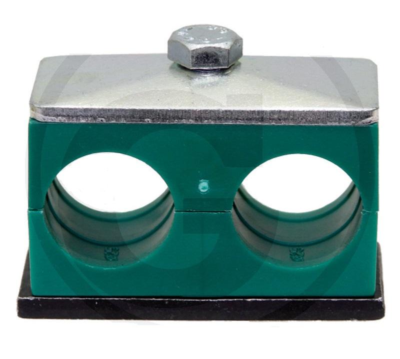 Spona na hydraulické trubky dvojitá Stauff RS D II 15
