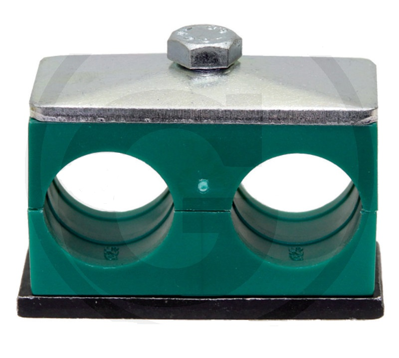 Spona na hydraulické trubky dvojitá Stauff RS D II 18