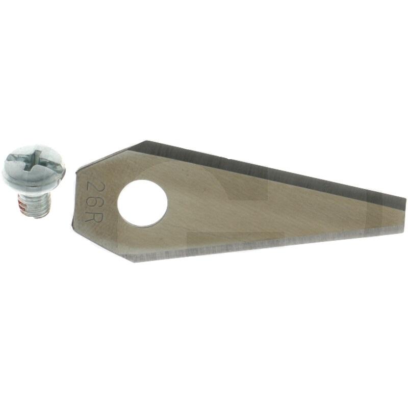 Sada 9 ks čepelí nožů 49,5 mm pro robotické sekačky Bosch Indego včetně šroubů
