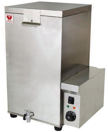 Elektrický pařící kotel BEEKETAL GBA 70 l na paření drůbeže POUŽITÉ ZBOŽÍ