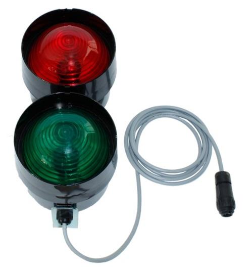 Další semafor pro přejezdové váhy Agreto bez ovládací skříňky