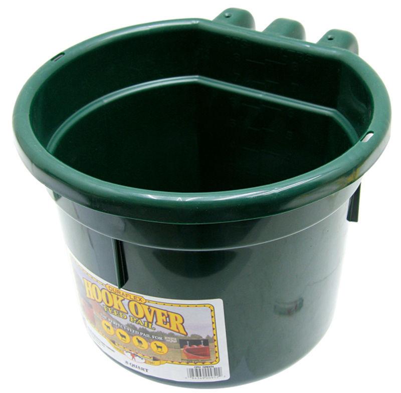 Závěsný plastový krmný a napájecí žlab Little Giant 8 l pro skot, koně, ovce a kozy