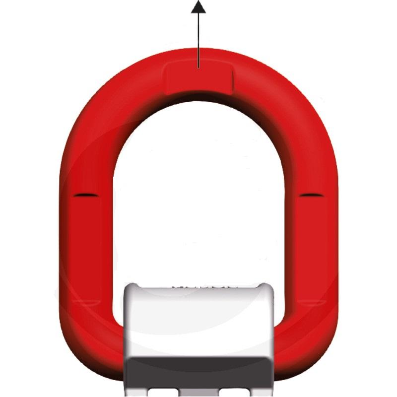 Kotevní oko navařovací nosnost 15000 kg pro upevňování, zarážky a uchycení