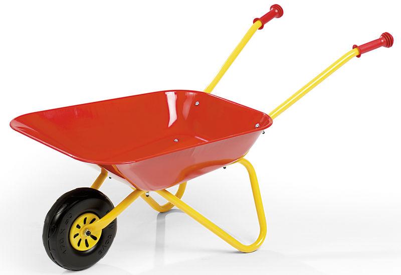 Kolečko plastové dětské červené Rolly Toys