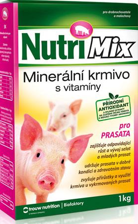 Nutrimix pro prasata a selata – doplňkové minerálně vitamínové krmivo 1 kg