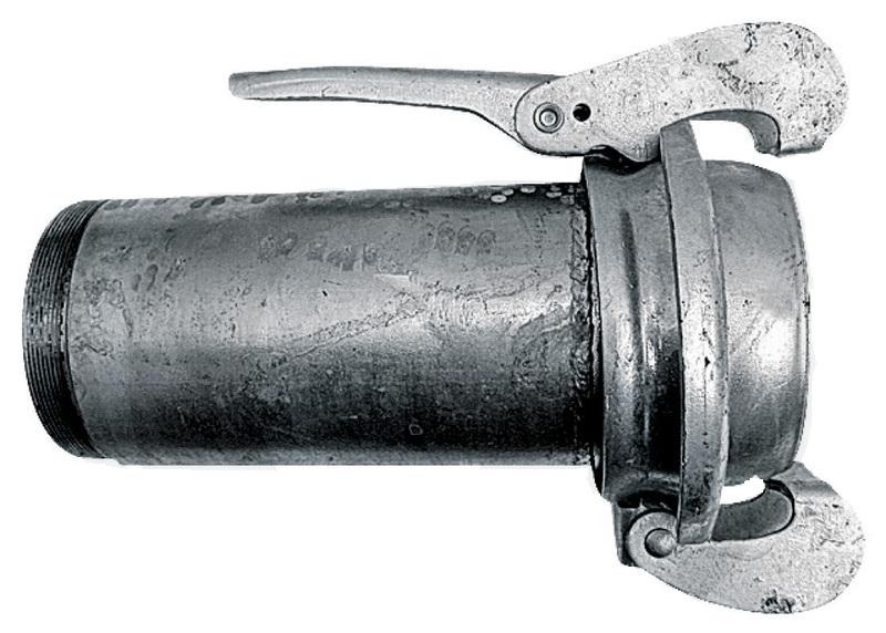 Bauer díl samice s vnějším závitem 5″ zinkovaná pro fekální vozy