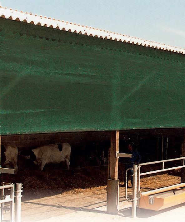 Protiprůvanová síť La GÉE 5 x 25 m polyesterová tkanina 85% stínění
