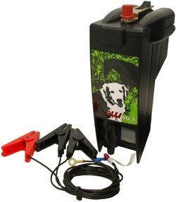 Bateriový zdroj pro elektrický ohradník OLLI SG 3 napětí 9V/ 12V, 0,3J