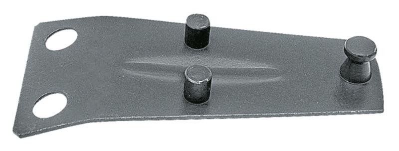 Držák nožů vhodný pro rotační sekačky Agrostroj ŽTR, Deutz-Fahr KM20, Pöttinger
