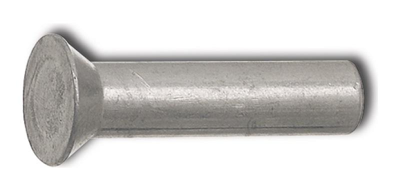 Zápustné nýty 5,4 x 30 mm DIN 661 na uchycení žabek, žacích nožů na žací lišty 87 ks