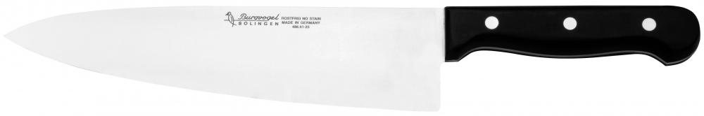 Kuchařský nůž planžetový Burgvogel Solingen 4860.401.23.0 délka ostří 23 cm