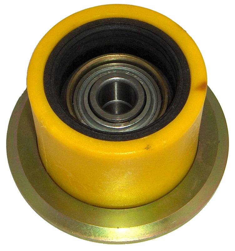 Podpěrná kladka s kroužkem průměr 75 mm, výška 61,5 mm pro bramborový kombajn Grimme