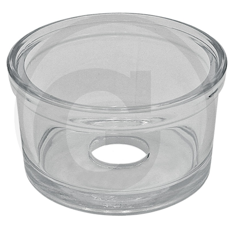 Filtrové sklo pro palivový filtr vhodný pro Case IH vnější průměr 93, otvor průměr 25 mm