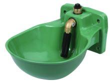 Napáječka misková P20 plastová s trubkovým ventilem pro koně a dobytek