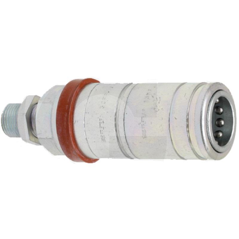 Hydraulická rychlospojka AGRAR FASTER 3CFPV7/1815F samice vnější závit M18x1,5 Schott