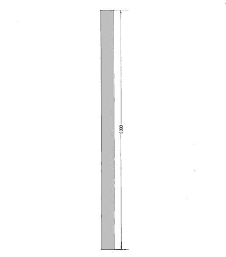 OKR 160 Trubka Kongskilde 3 m pozinkovaná