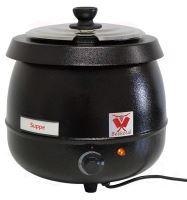Elektrický kotlík na polévku, polévkový hrnec BEEKETAL SB600 na 9 l s termostatem