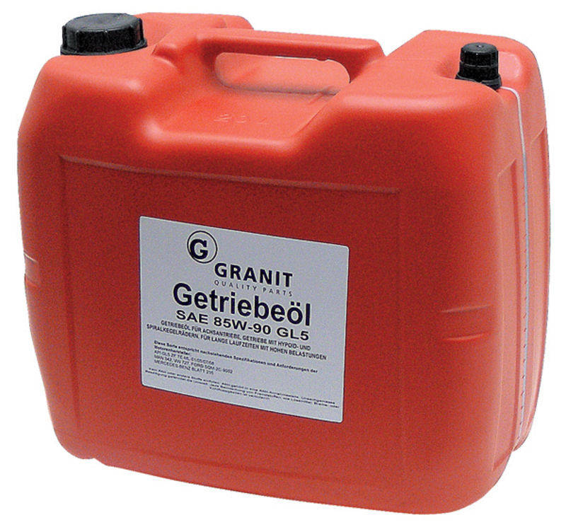 Olej do hypoidních převodovek EP85W-90 GL-5 SAE 85W-90 20 l