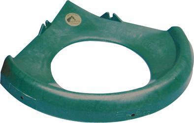 Ochranné víko OK PLAST pro 16 l plastový rohový žlab pro koně