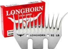 Spodní široký nůž Longhorn Wide LB 7/92 mm dlouhý úkos na stříhání ovcí