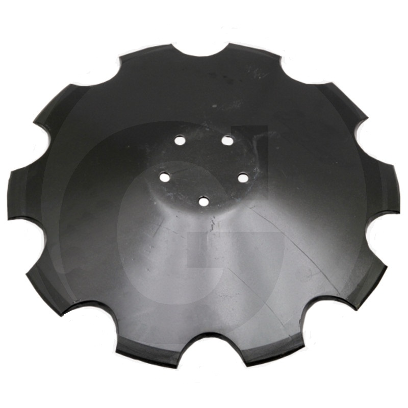 Ozubený disk diskové brány vhodný pro Horsch Joker průměr 520 mm tloušťka 6 mm