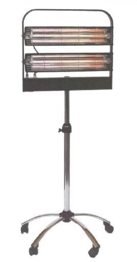 Infrazářič průmyslový SYNER PA 2000 W pro dílny, sklady, lakovny, vysoušení na 12 m3