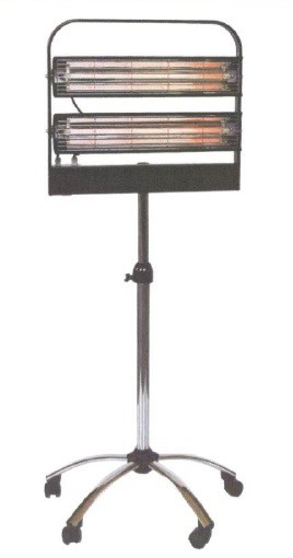 Infrazářič průmyslový SYNER PA 2600 W pro dílny, sklady, lakovny, vysoušení na 14 m3