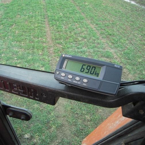 Indikátor Agreto Standard B300 pro tříbodovou váhu 6000 kg