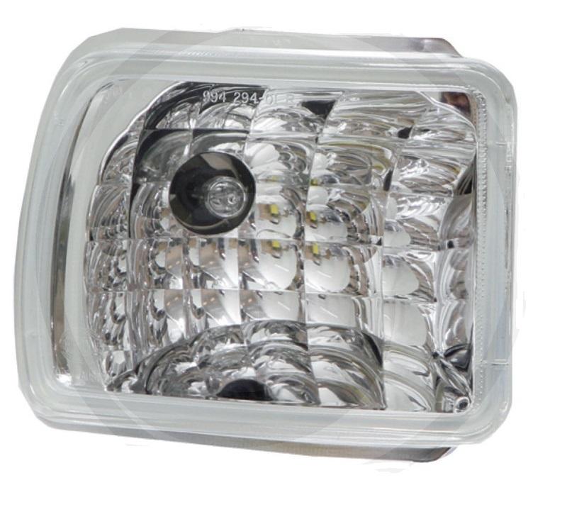 Pracovní světlomet pravý integrovaný H3 vhodný pro John Deere