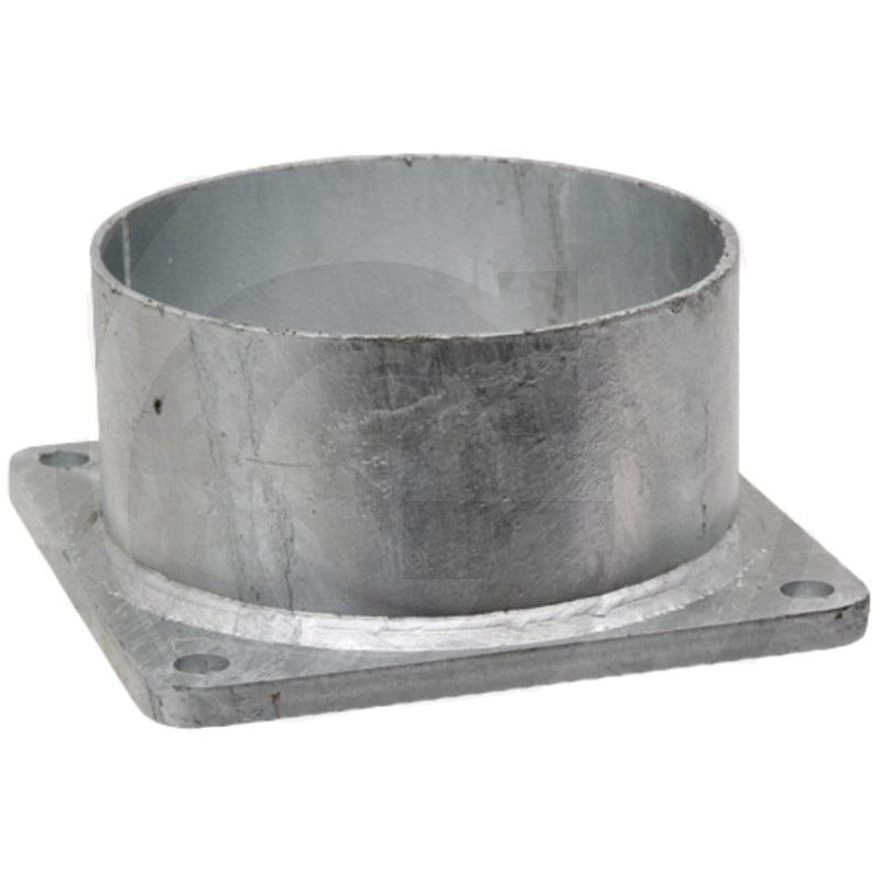 Přírubová podpěra 6″ pro dokovací trychtýř pro fekální vozy