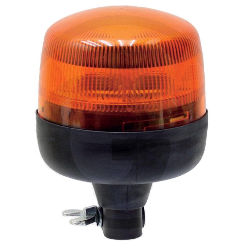 Maják výstražný HELLA oranžový LED na auto, traktor, zemědělské stroje