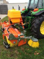 Zametač traktorový na traktor i malotraktor Agrometall KM-T 2300 UH pohon hydromotorem