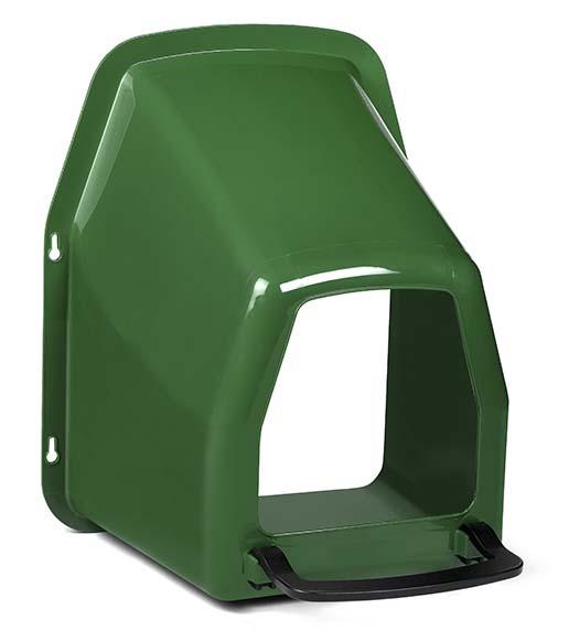 Kukaň pro slepice GAUN jednomístná plastová k připevnění na zeď bez plastového košíku