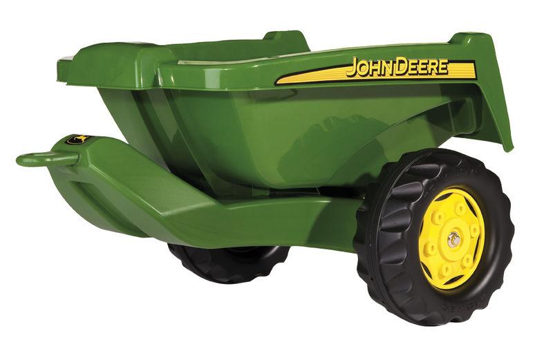 Rolly Toys - sklápěcí přívěs John Deere Kipper za šlapací traktory a nakladače