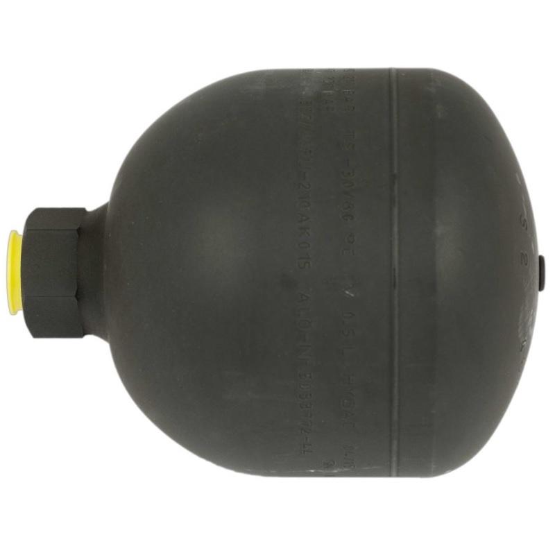 Akumulátor tlaku 0,5 l 20 BAR R1/2″ originál Quicke vhodné i pro SoftDrive, Dimension