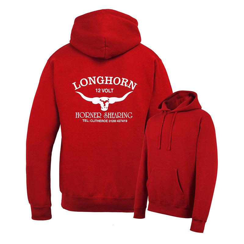 Mikina Longhorn s kapucí