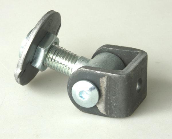 Pant vratový na křídlové brány s regulační maticí PANT 425R-16 ocelové panty na branku
