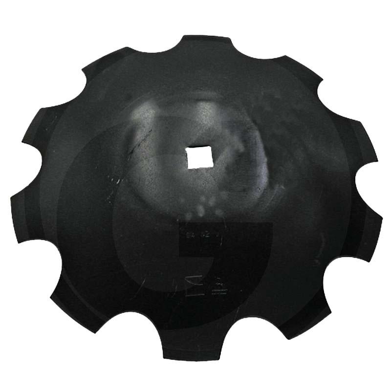 Ozubený disk diskové brány pro Frost průměr 510 mm, tloušťka 4 mm 10 zubů