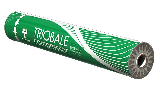 Senážní fólie Triobale compressor New 1400 x 0,020 x 1800 m bílá