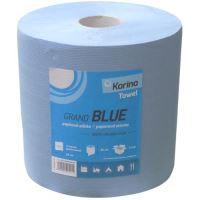 Papírový ručník BLUE 920 útržků 250 x 260 mm 2-vrstvý modrý balení 2 ks