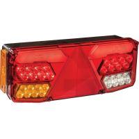 LED levé světlo koncové, brzdové, směrové, zpátečkové, mlhovka, osvětlení SPZ, odrazka