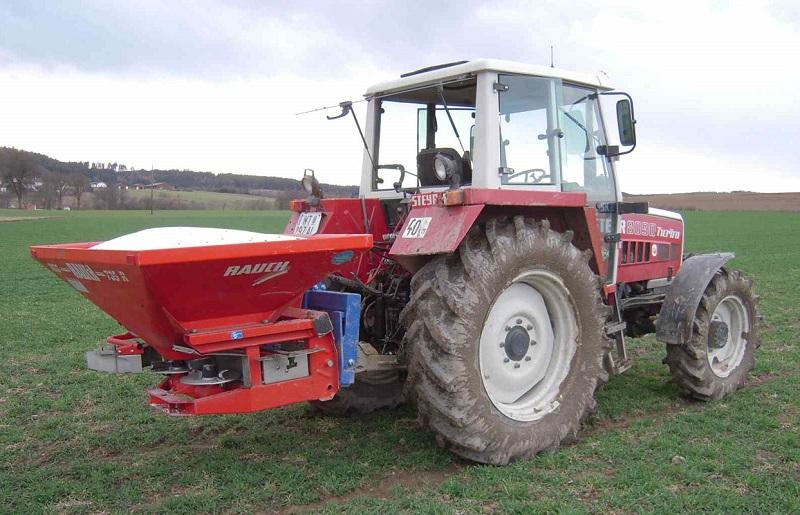 Vážicí sada AGRETO pro dodatečnou montáž na rozmetadla hnojiv, standard
