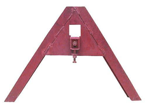 Trojúhelníkový mezirám kat. 0 ze standardního U-profilu pro přístroje do 1000 kg