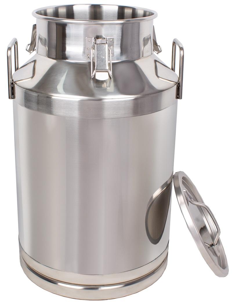 Nerezová konev na mléko BEEKETAL BMK 60 l včetně víka