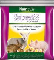 SUPERVIT S vodourozpustný multivitamínový koncentrát pro hospodářská zvířata 100 g